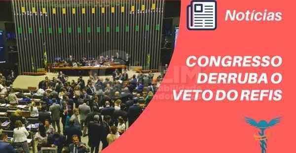Congresso derruba veto do Refis das PMEs e libera parcelamento de dívida tributária do Simples; ente