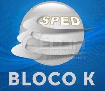 Bloco K - O novo Livro registro de Controle da Produção e do Estoque